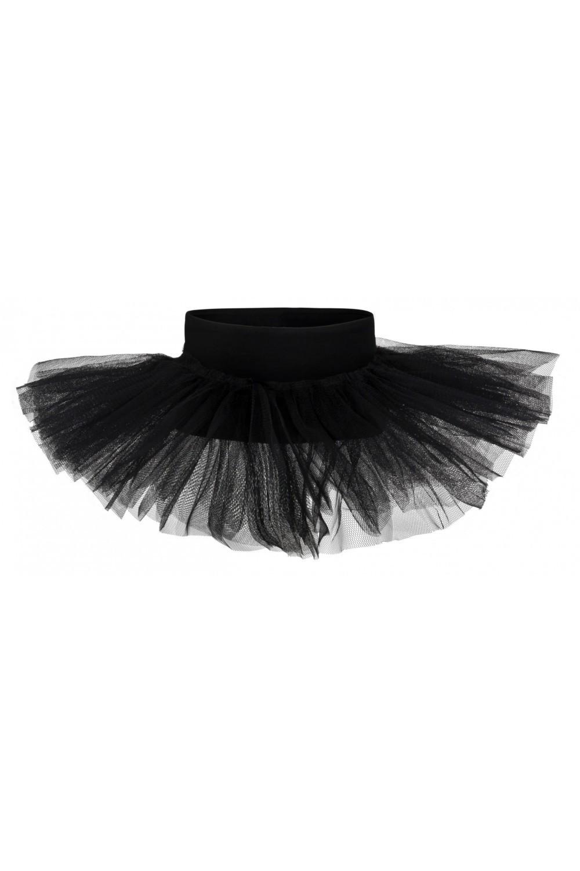 kinder ballett tutu rock pia 3 lagig schwarz. Black Bedroom Furniture Sets. Home Design Ideas