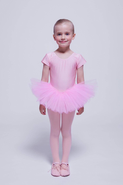 kinder kurzarm ballett tutu alina rosa ballettkleid. Black Bedroom Furniture Sets. Home Design Ideas