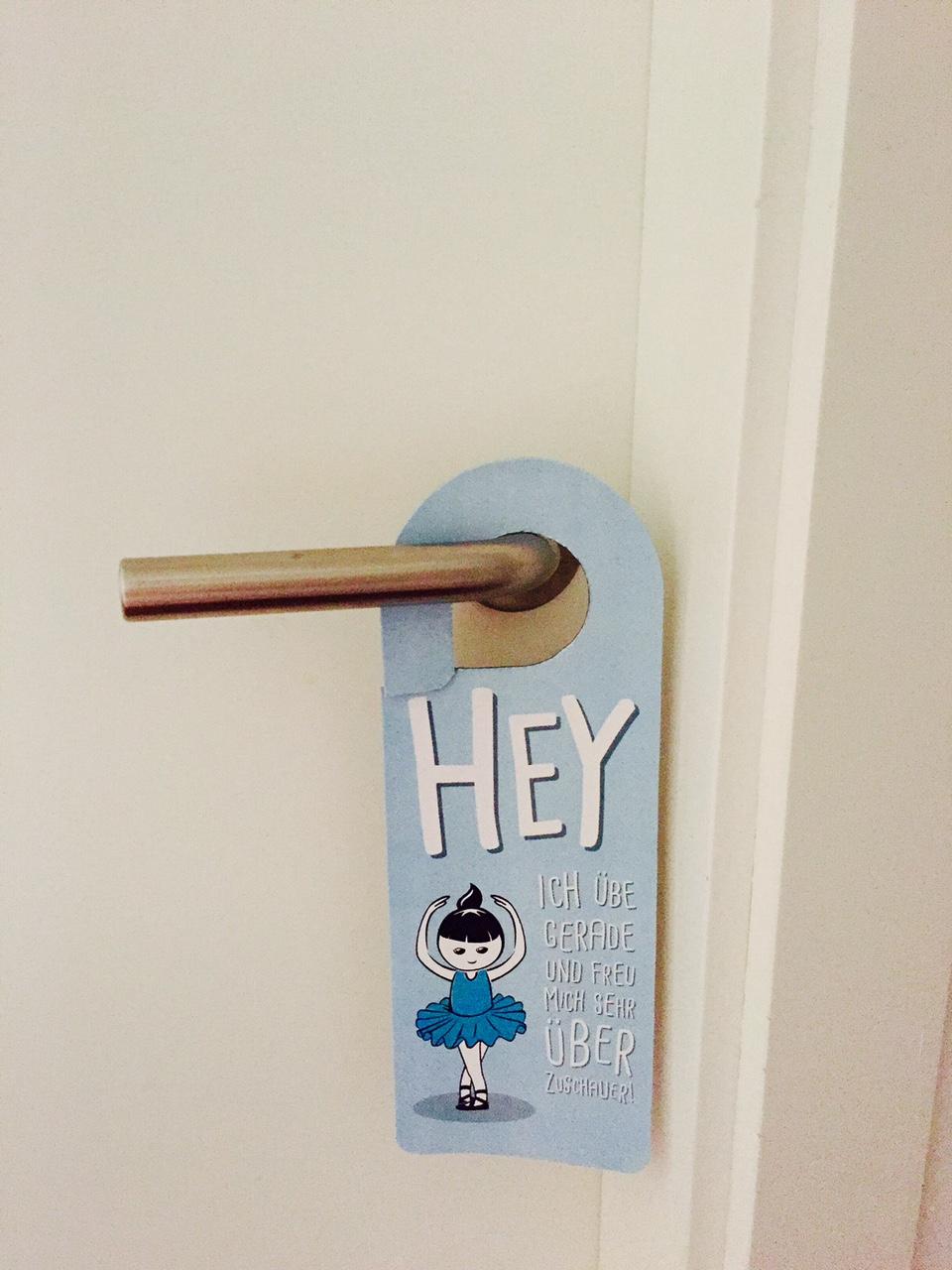 DIY Türhänger für das Kinderzimmer: Komm rein